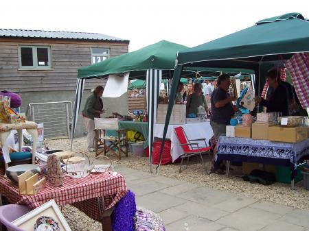 More stalls at Monks Yard